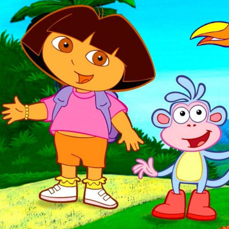 Enjoy The Game Dora The Explorer With All Your Favorite