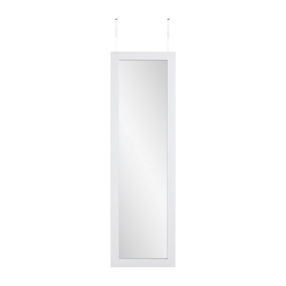 Xenos Sieraden Spiegelkast.80 Euro Sieraden Spiegel Spiegelkast Deurhanger Wit