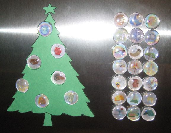 Jesse Tree Magnets Fabulous!!! Holiday  Winter Crafts and