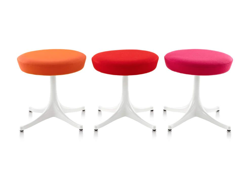 Nelson Pedestal Stools | Herman Miller Collection | Chairs | Pinterest