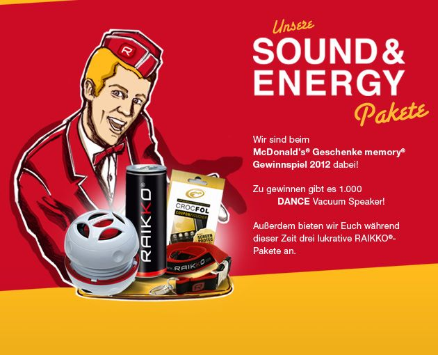 Unsere aktuellen Sound & Energy Pakete