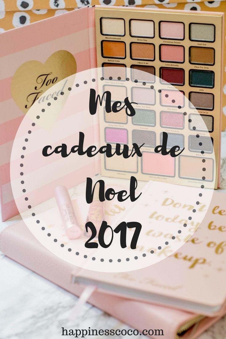Mes cadeaux de Noël 2017 ! | #blogger #youtuber #lifestyle #noel #noël #christmas #cadeaux #gifts #giftsideas #idées #idéescadeauxnoël