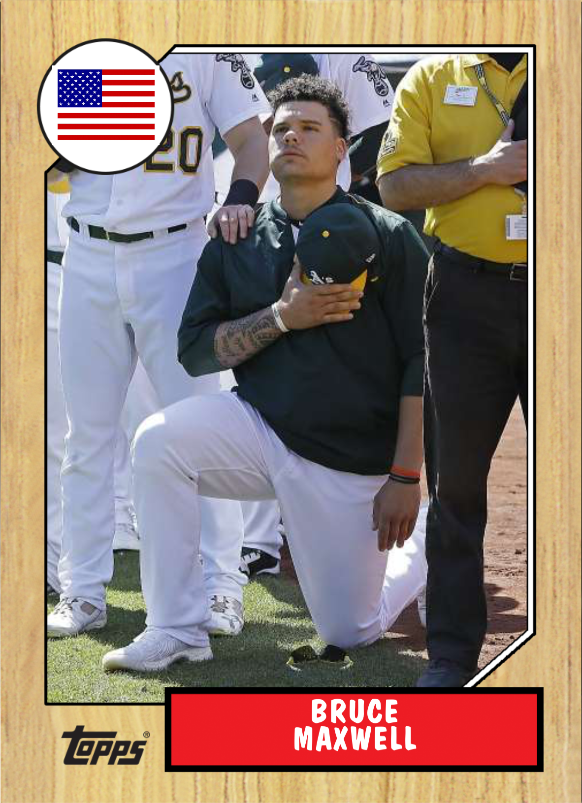When A S Bruce Maxwell Knelt During The Anthem His College Coach Disagreed Then They Talked Bruce Anthem Taking A Knee