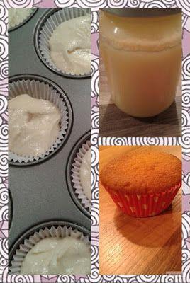 Lekker en leuk!: Lemon curd cupcakes