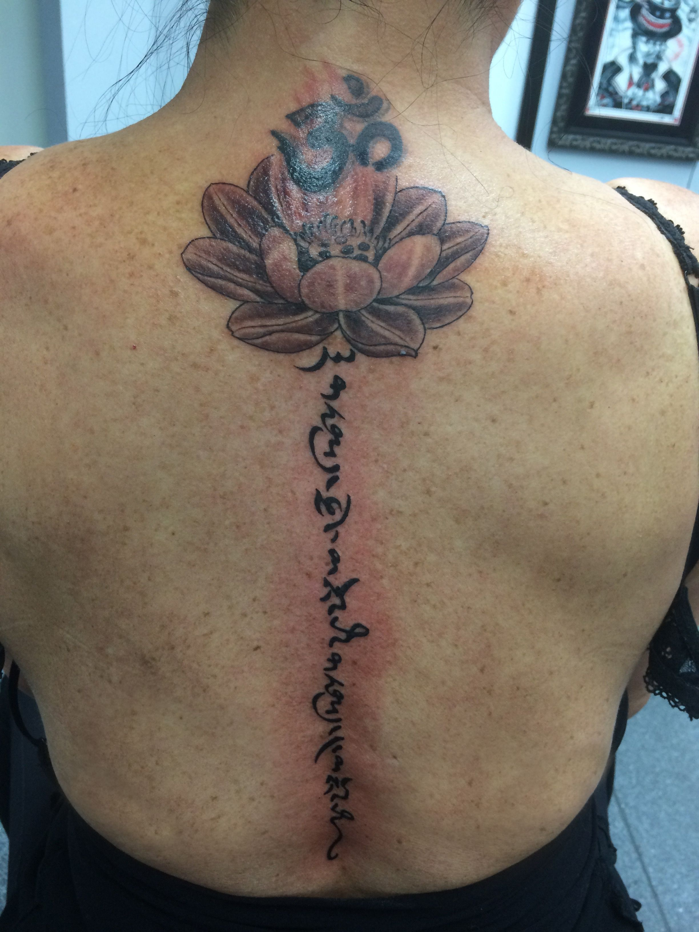 Thai Lotus And Original Tibetan Script Forever With You Forever With Me Thank You To Nixx From 383 Tat Tattoo Gold Coast Best Tattoo Designs Tattoo Designs
