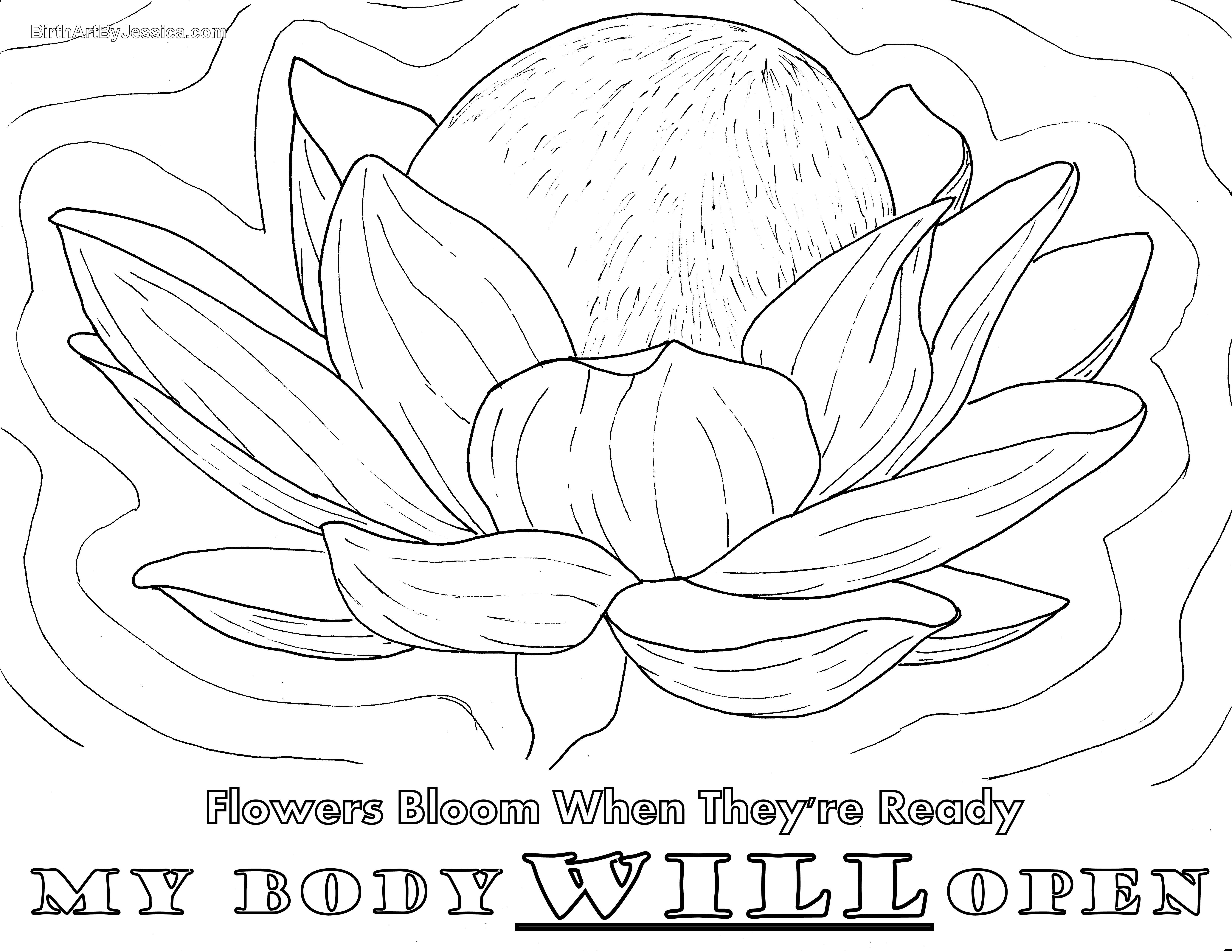 Pin On Birth Pregnancy Coloring Pages [ 5100 x 6598 Pixel ]