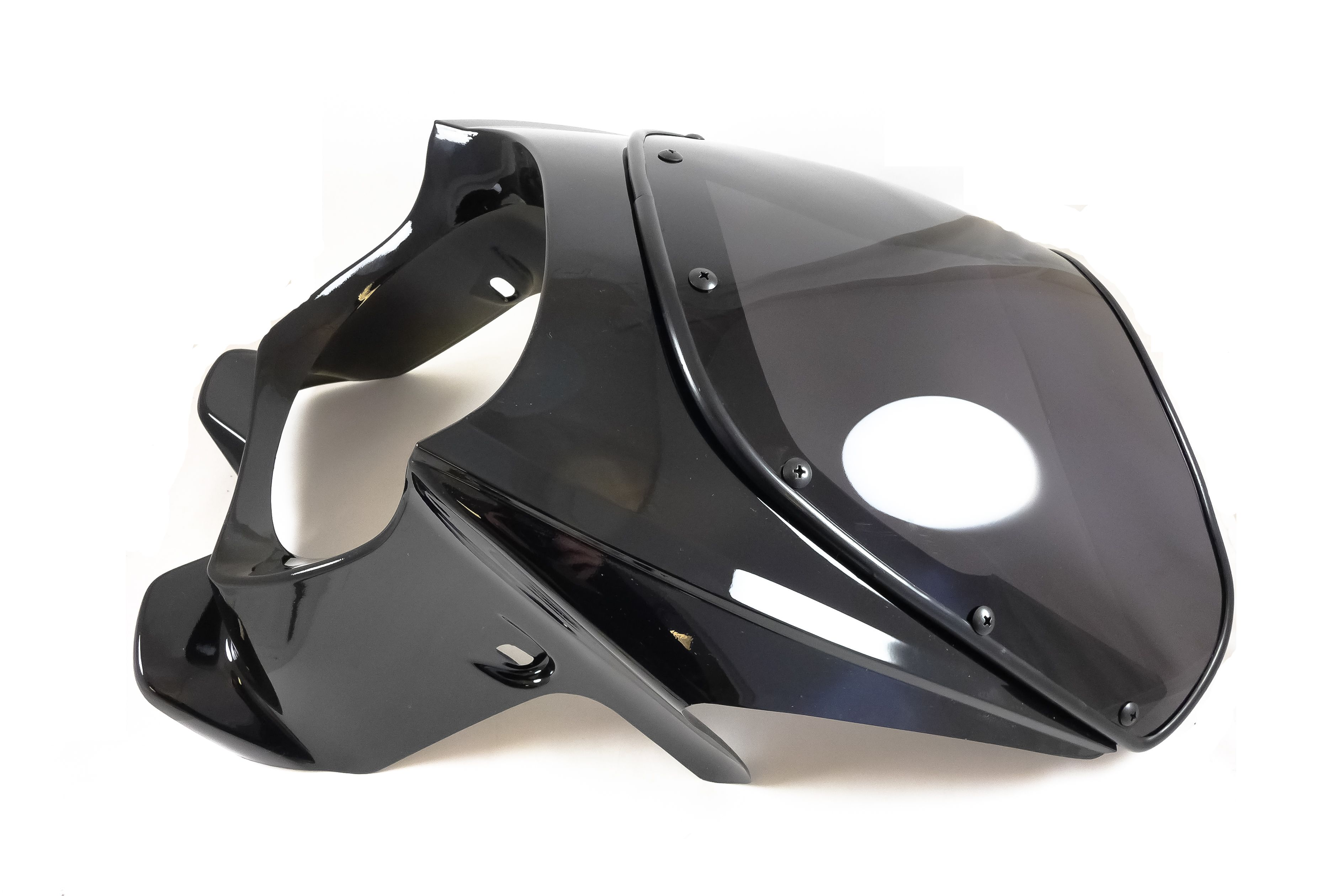 Venom Mk Ii Cafe Racer 1 4 Fairing Windshield Fits 7 Round