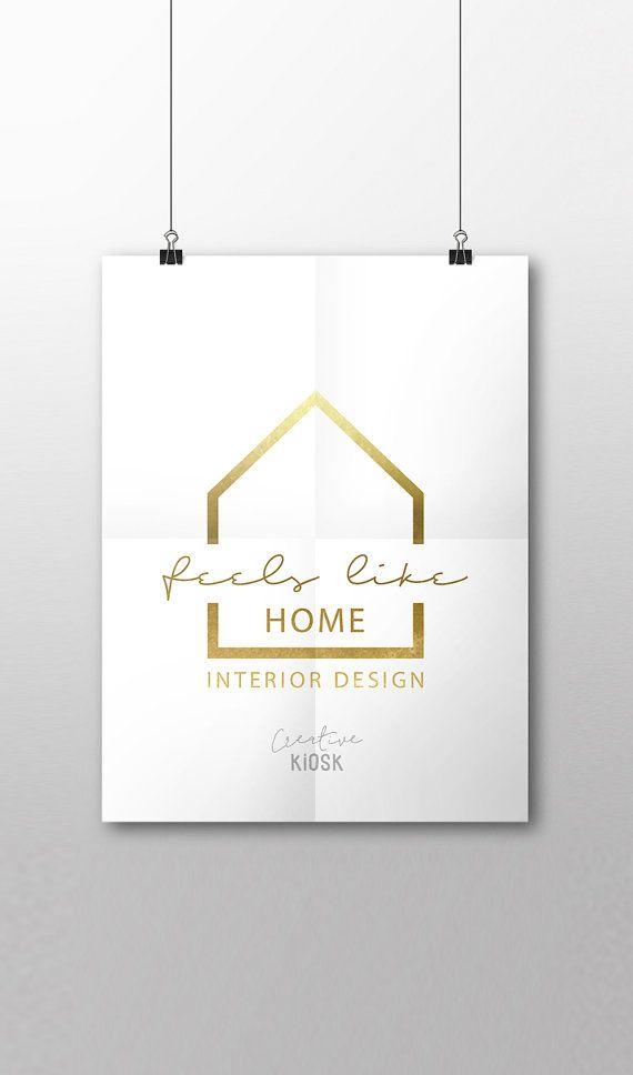 Real Estate Logo Psd Logo Design Interior Design Logo Modern