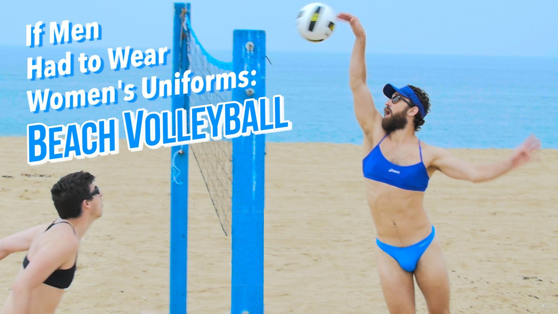 If Men Had To Wear Women S Olympic Uniforms Beach Volleyball The Kloons Beach Volleyball Volleyball Women S Uniforms