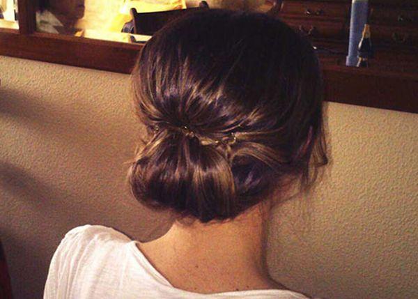 Tendencias en peinados para novias recogidos informales - Recogidos para novia ...