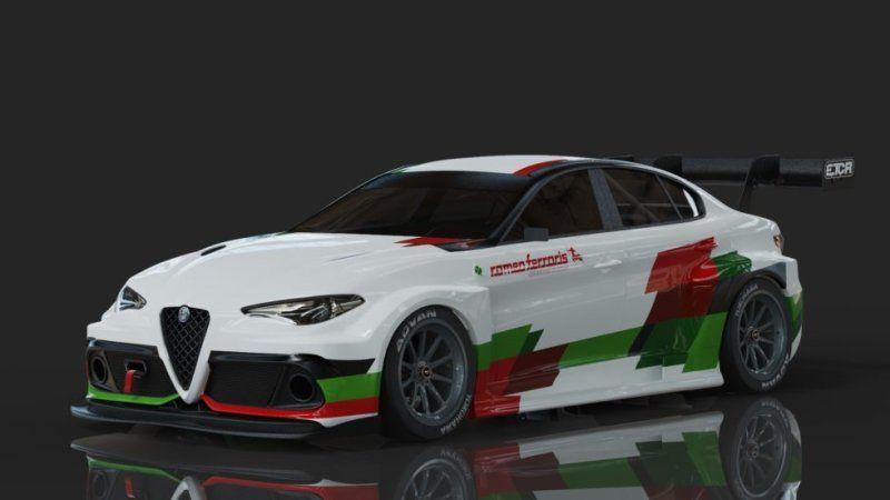 Romeo Ferraris Unveils Alfa Romeo Giulia Etcr Race Car Alfa Romeo Giulia Alfa Romeo Hyundai Veloster