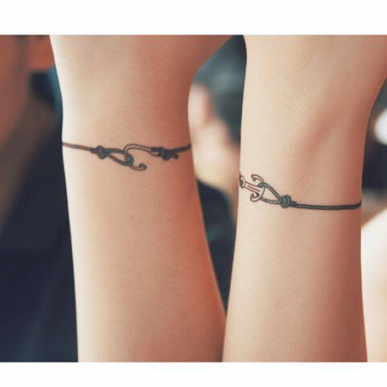 bracelet tattoos for wrist google search things i like pinterest bracelet tattoos. Black Bedroom Furniture Sets. Home Design Ideas