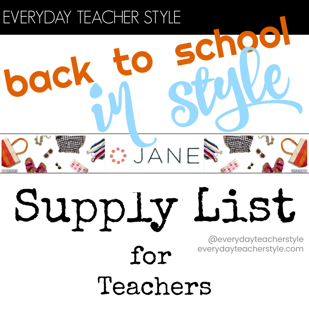 Affordable back to school teacher style guide + how to start the year off right