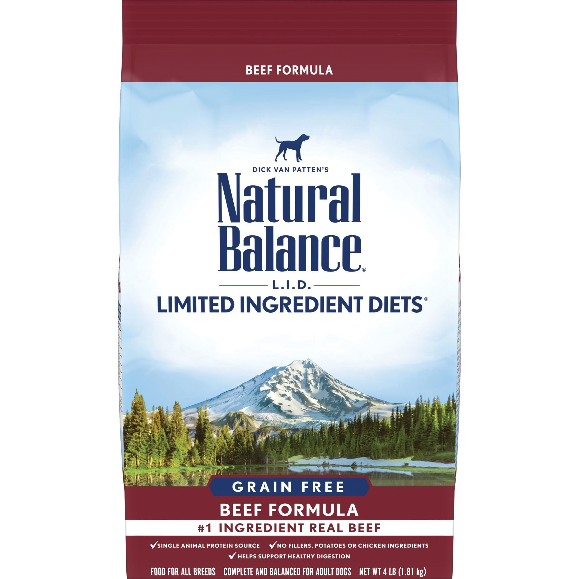 Natural Balance Limited Ingredient Diet Grain Free Beef Formula