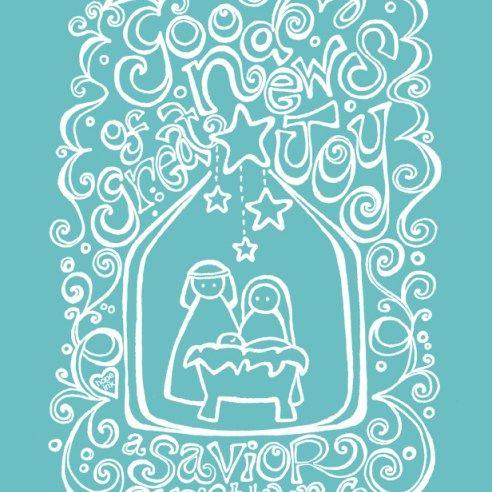 Free Christmas Coloring Printable Nativity Scripture Art Hope Ink ...