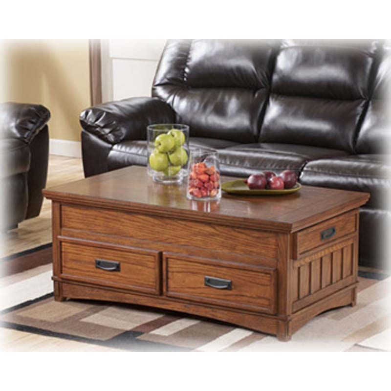 Ashley Mission Coffee Table Coffee Table Coffee Table With Storage Ashley Furniture