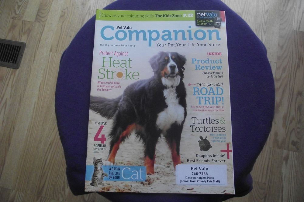 This Is Not A Magazine It S More Of A Supplement Type Handout There Are Only 23 Pages In This It S In Really Good Sh Your Pet Best Friends Forever Road Trip