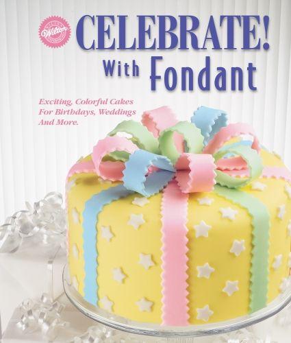 How to Make a Gender Reveal Cake: FREE Craftsy Tutorial. Fondant IcingMarshmallow  FondantChocolate FondantFondant Recipe Without ...