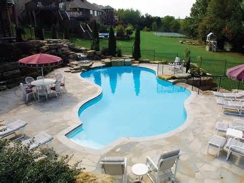 Start simple: How much does an inground pool cost? | Pools | Pinterest
