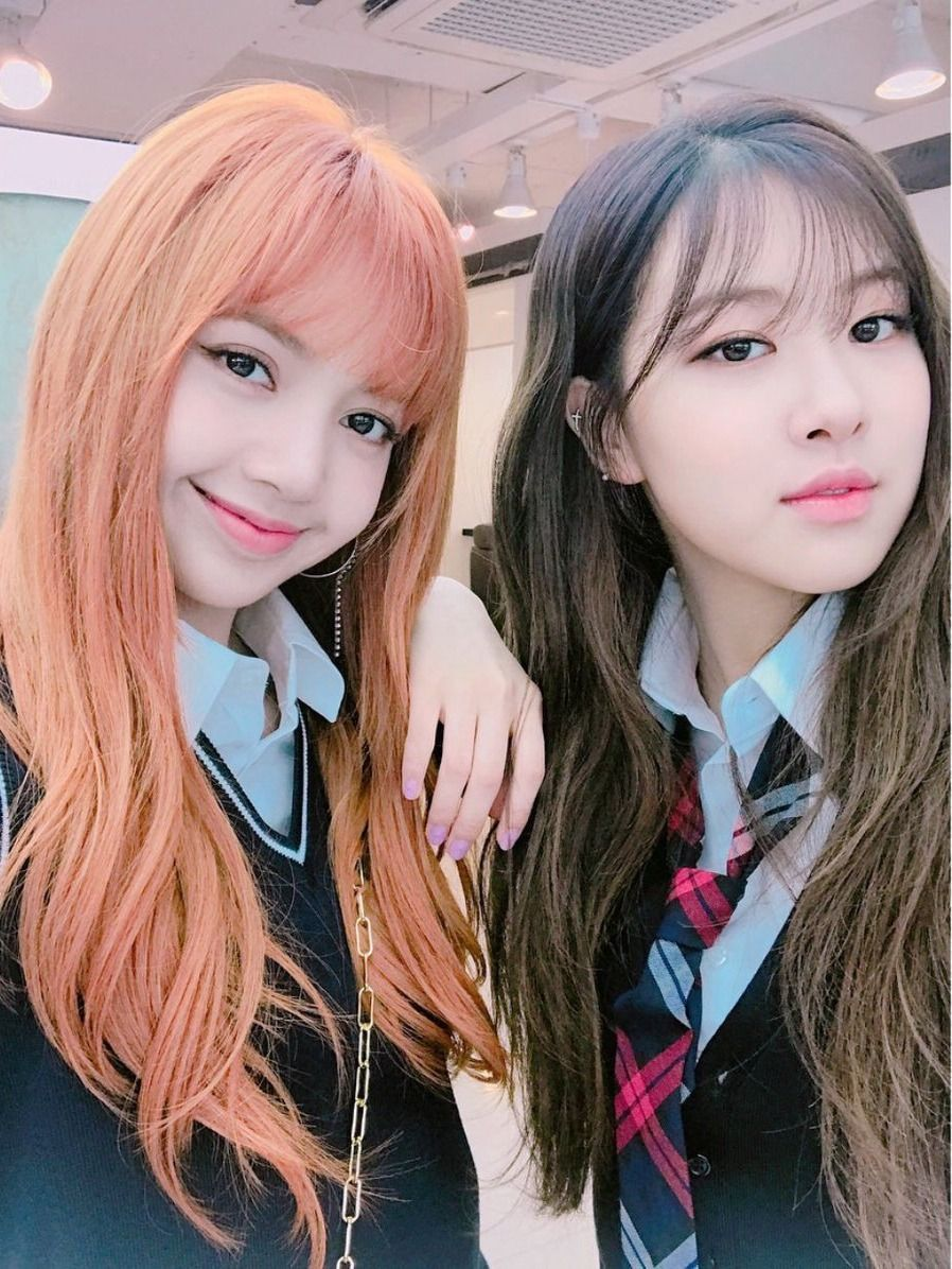Lisa And Rose With Cute Hairstyles Hopefully To Be Back With A