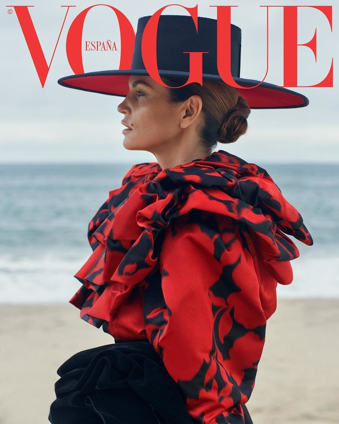 ddaa18fe6e Vogue Spain October 2018 - Cindy Crawford | Vogue Spain Covers in ...