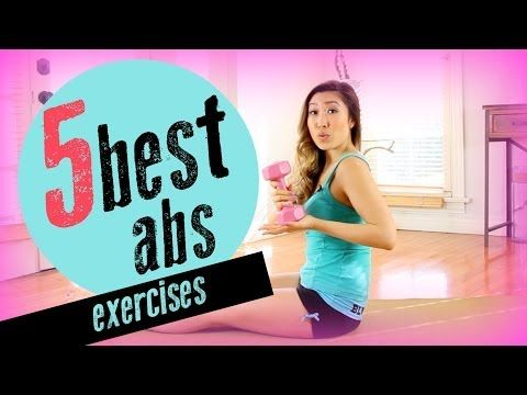 The 5 Best & Most Effective Ab Exercises - YouTube