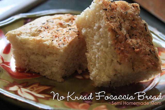 No Knead Focaccia Bread - sooo easy!!