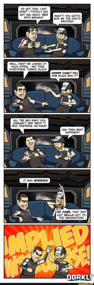 Mass Effect Romance Scenes