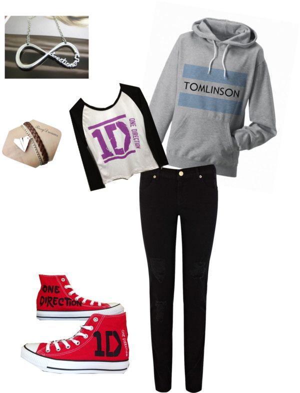 """Ultimate Directioner Outfit"" by guitar-lover-anon ❤ liked on Polyvore"