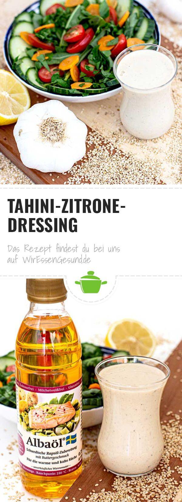 Tahini-Zitrone-Dressing