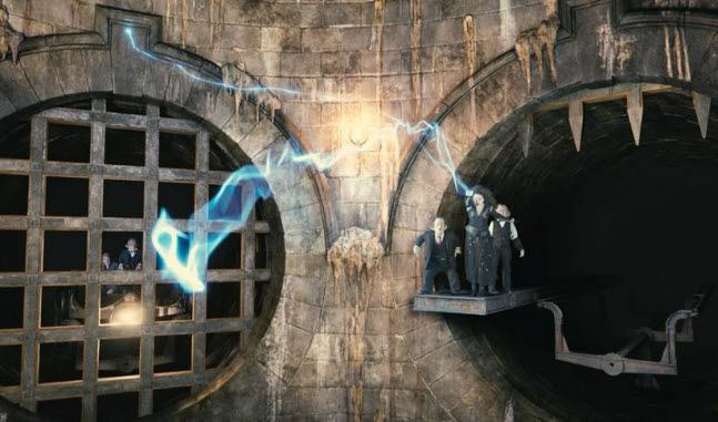 Escape from Gringotts at Universal Studios Florida