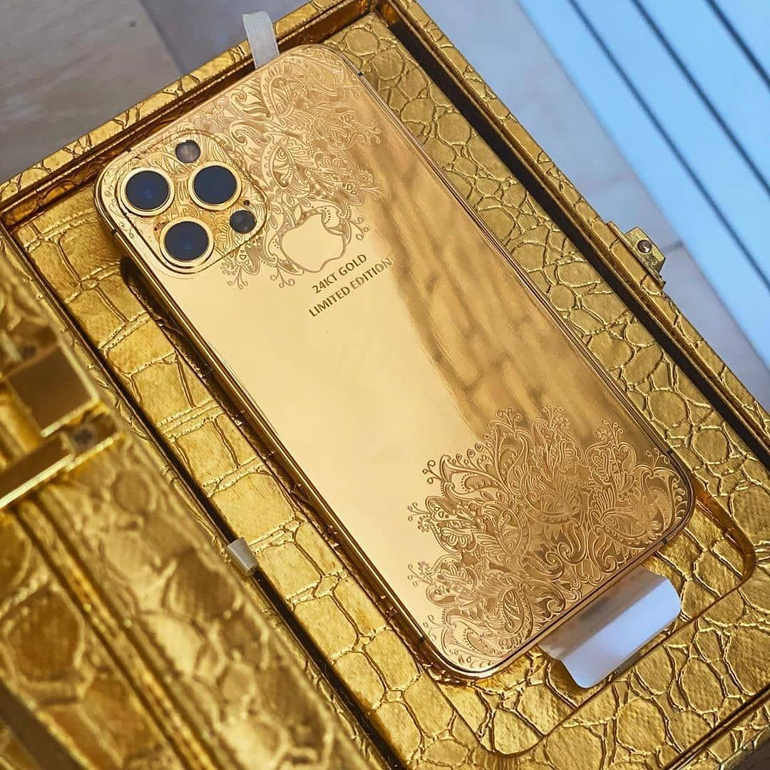 New Iphone 12pro Gold Edition 24k Gold Drop A If You Love Iphone Follow Apple Technewsss Follow Apple Rich Lifestyle Luxury Realtor Gold Phone