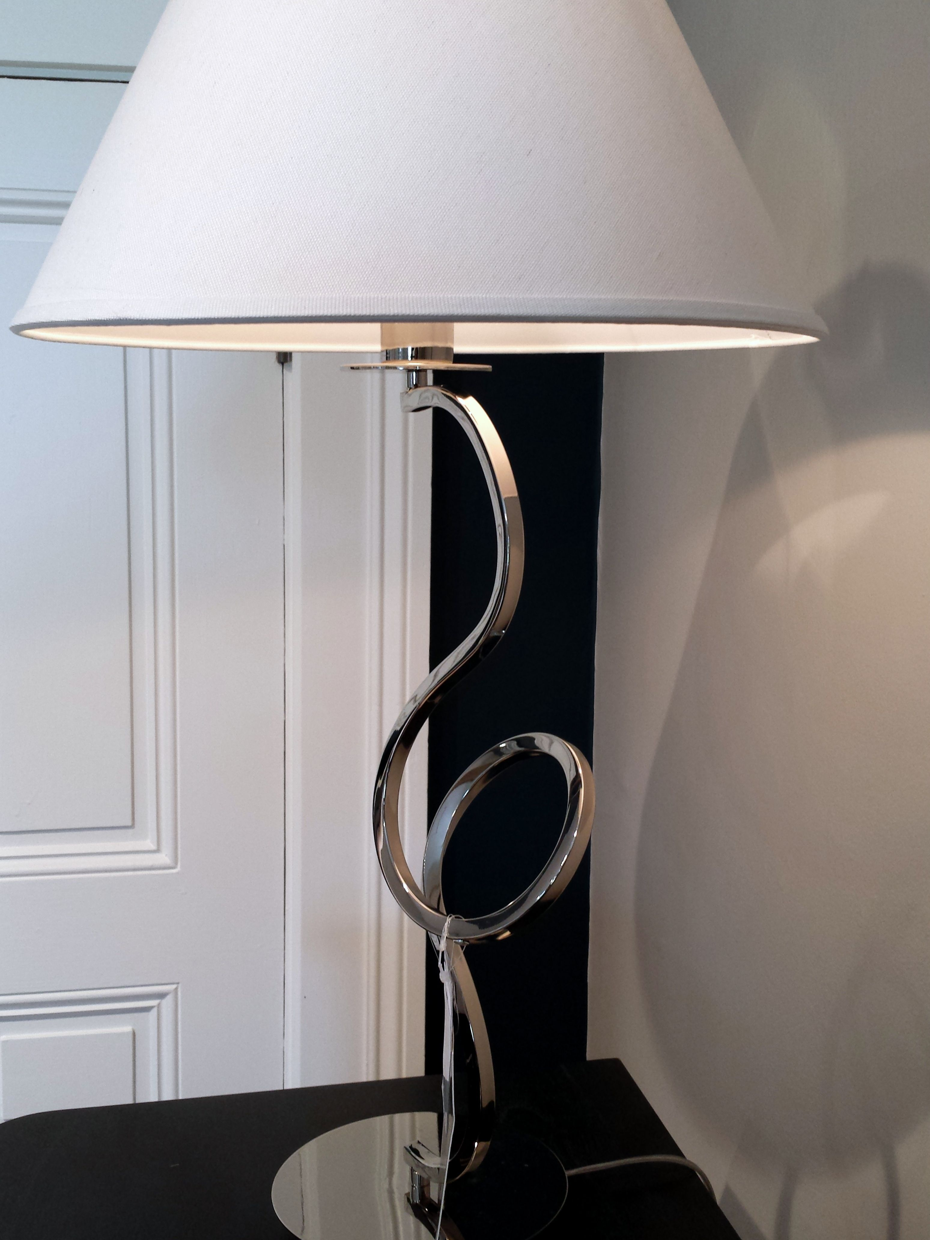 Curly Q Lamp - Available and on display at Routzahns Way