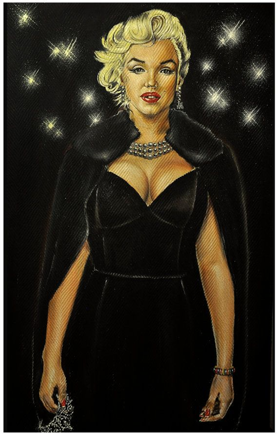 JEREMY WORST Queen Marilyn Original Painting by JeremyWorst ...