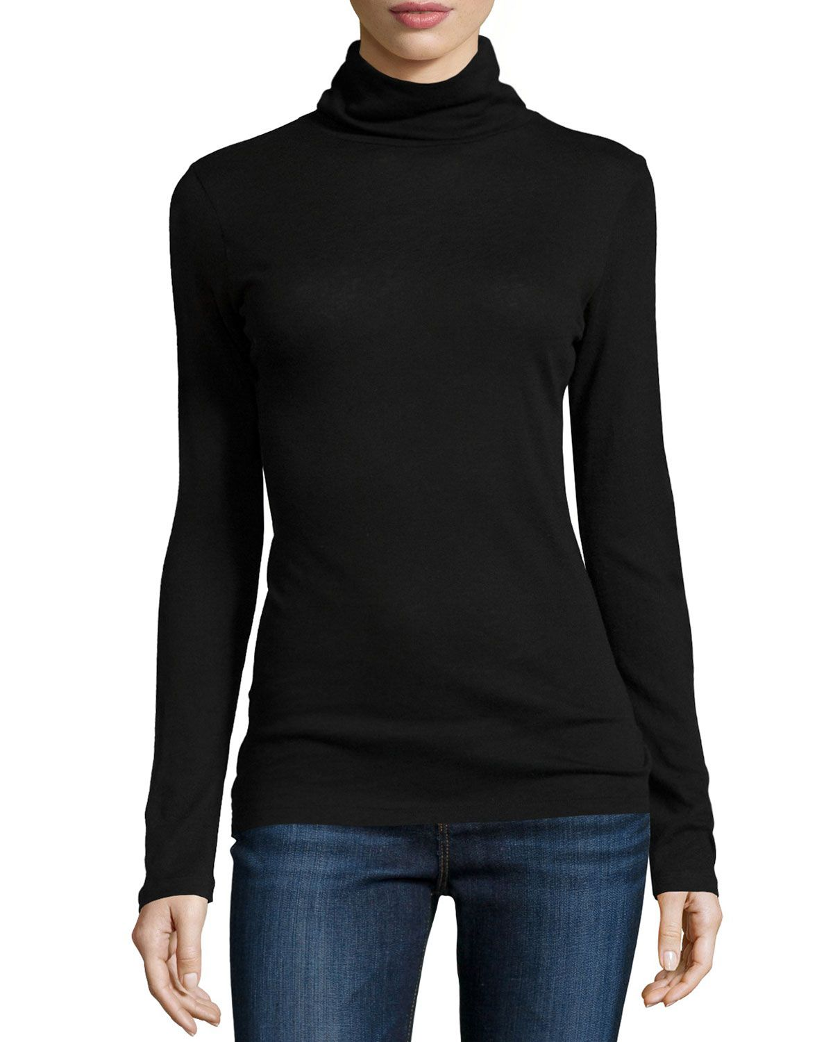Clearance Top Quality Neiman Marcus Turtleneck Cashmere Top Free Shipping Supply Free Shipping Visit New Cheap Big Discount YRmFJ