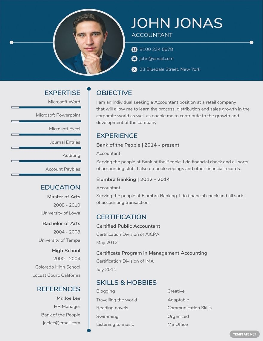 Free banking resume for freshers template in 2020 resume