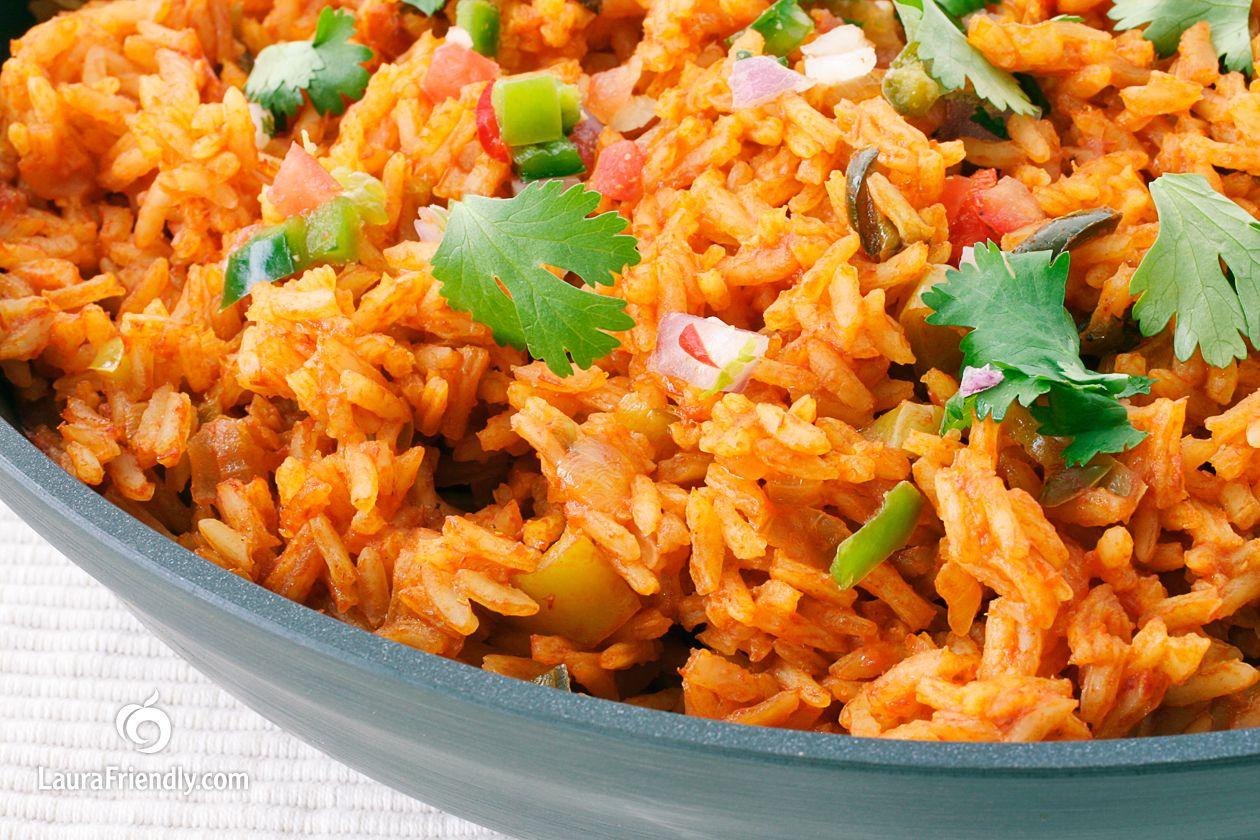 Spanish Rice Recipe Spanish Rice Food Recipes Food