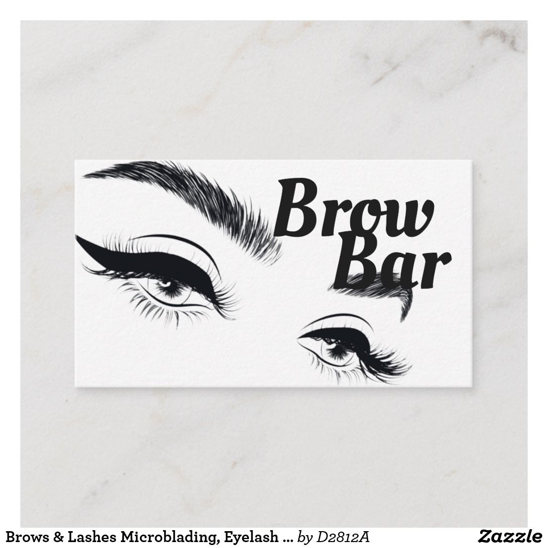 Brows lashes microblading eyelash extensions business