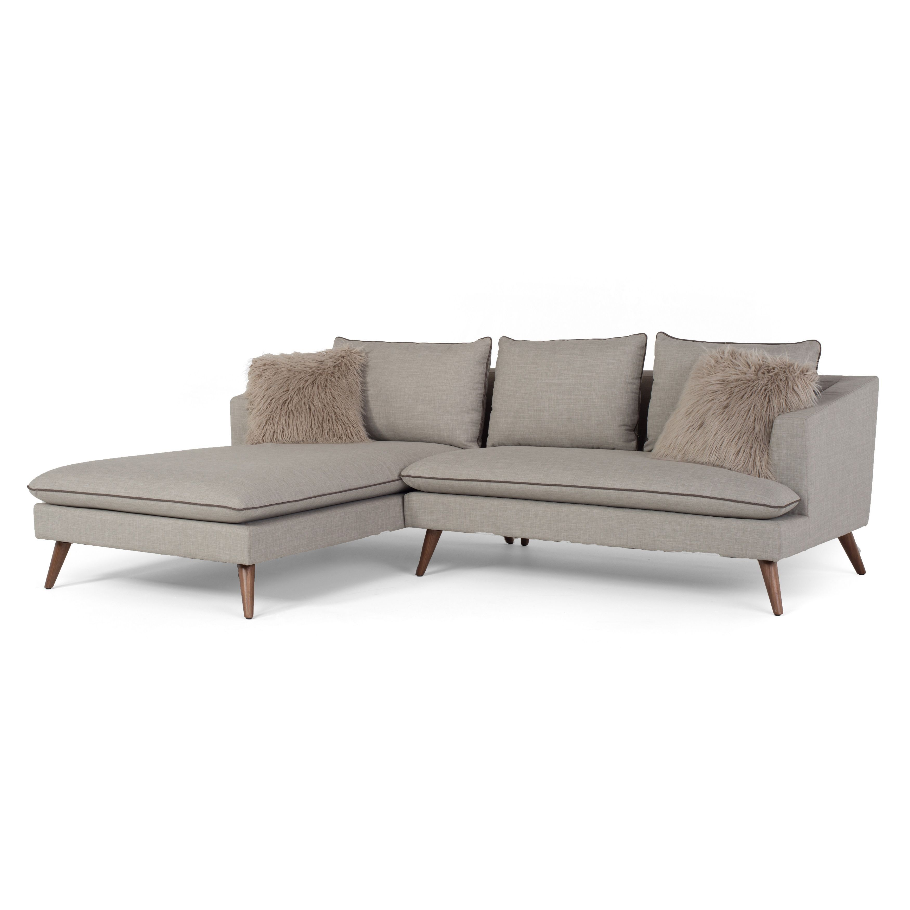 RST Brands Marco Stonewashed 2-Piece L-Shaped Sofa | Tok tang ...