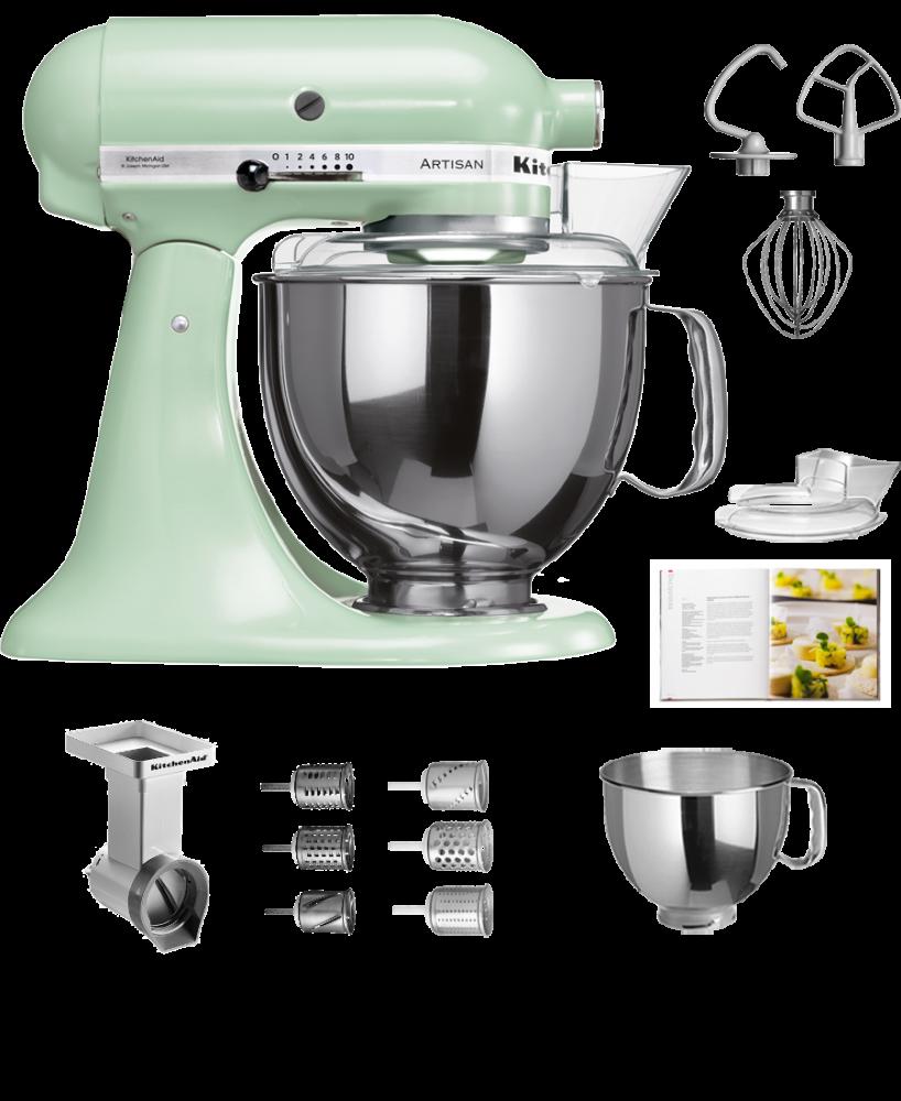 Kitchen Aid Küchenmaschine RRSD Raspel, Reiben Set de Luxe Extra ...