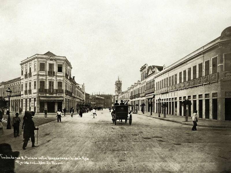 Resultado de imagem para avenida marechal floriano igreja de santa rita
