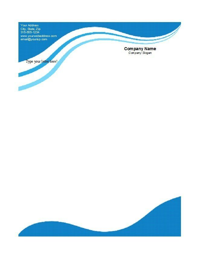 45  free letterhead templates  u0026 examples  company  business  personal  with blank letterhead