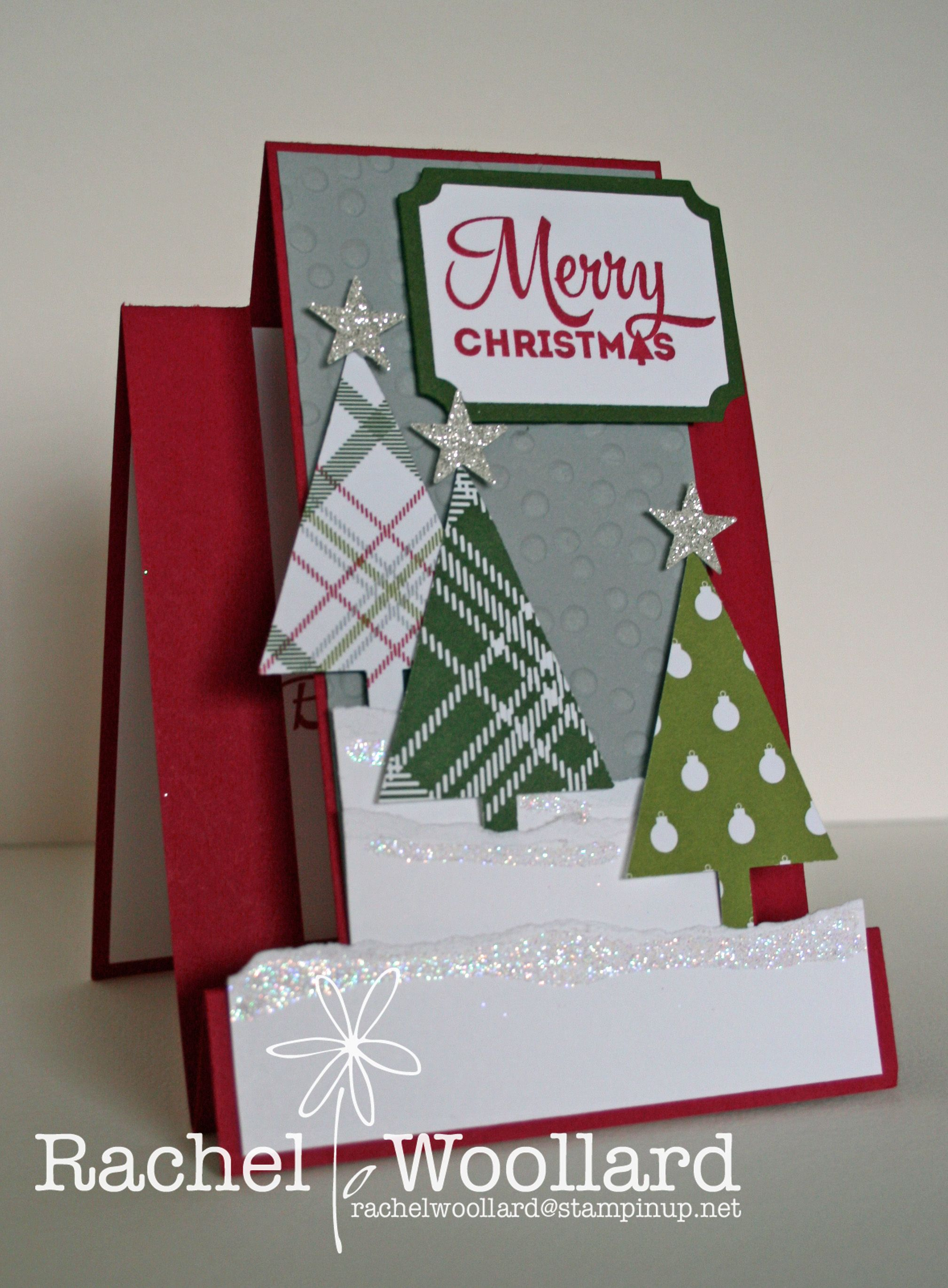 Christmas Holly Cricut Die Cut Set Of 2 Handmade Using Card Stock Punchies