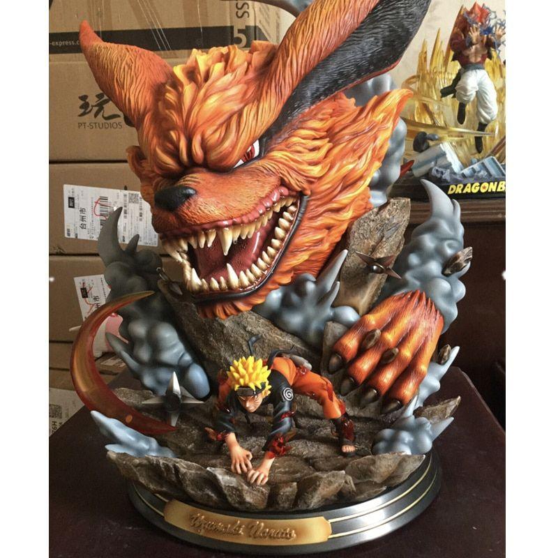 Action Figure Naruto Anime Estatua Kurama Em 2020 Naruto Anime
