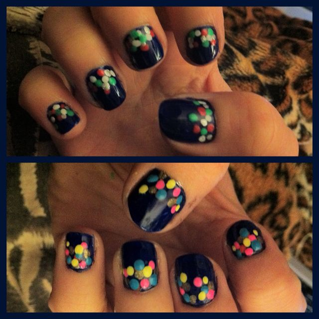 spotted nails :)