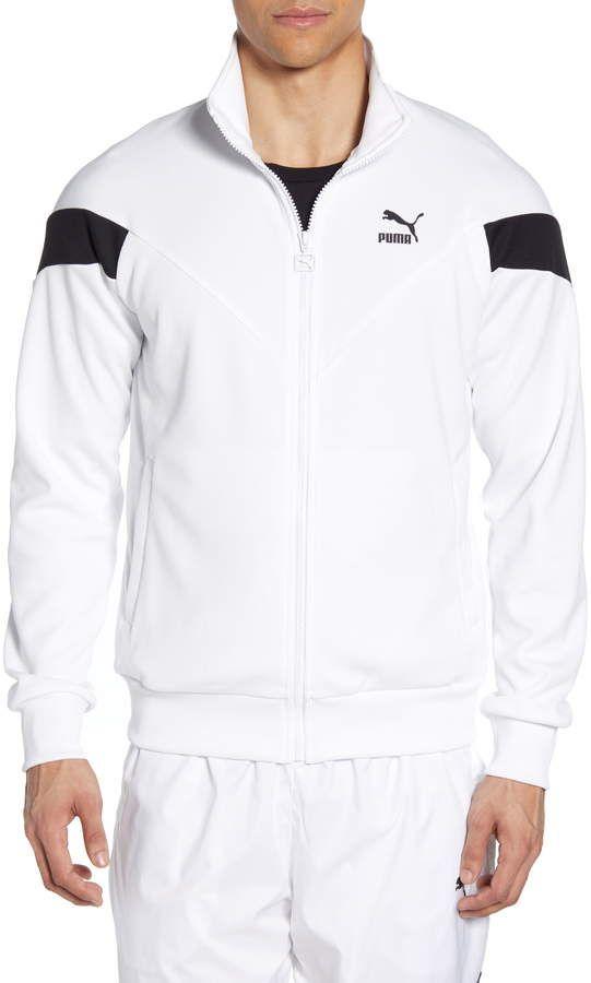 Puma Iconic MCS Mesh Track Jacket | Mens clothing styles