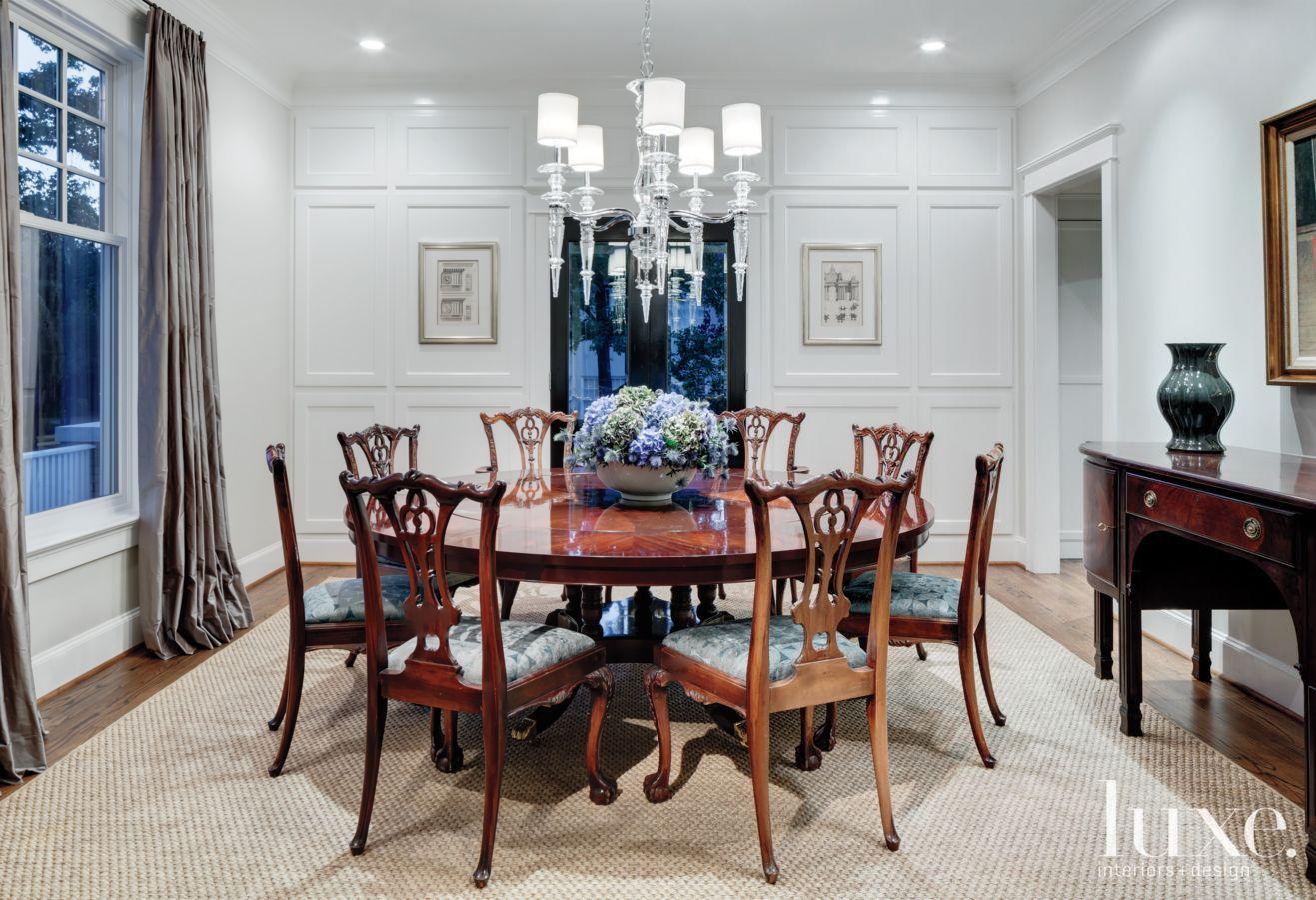 Interior Designer Linda Fritschy Used A Sisal Rug From Truett Fine