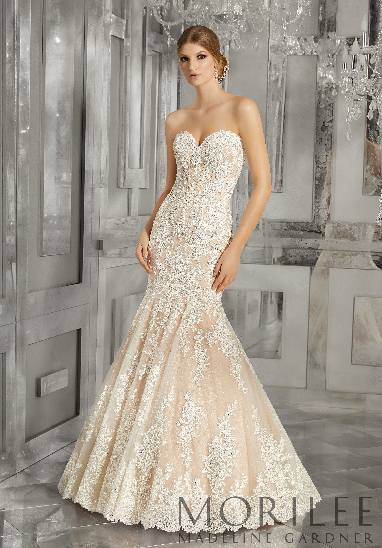 Morilee | Madeline Gardner, Morella Bridal Dress. This Stunning ...