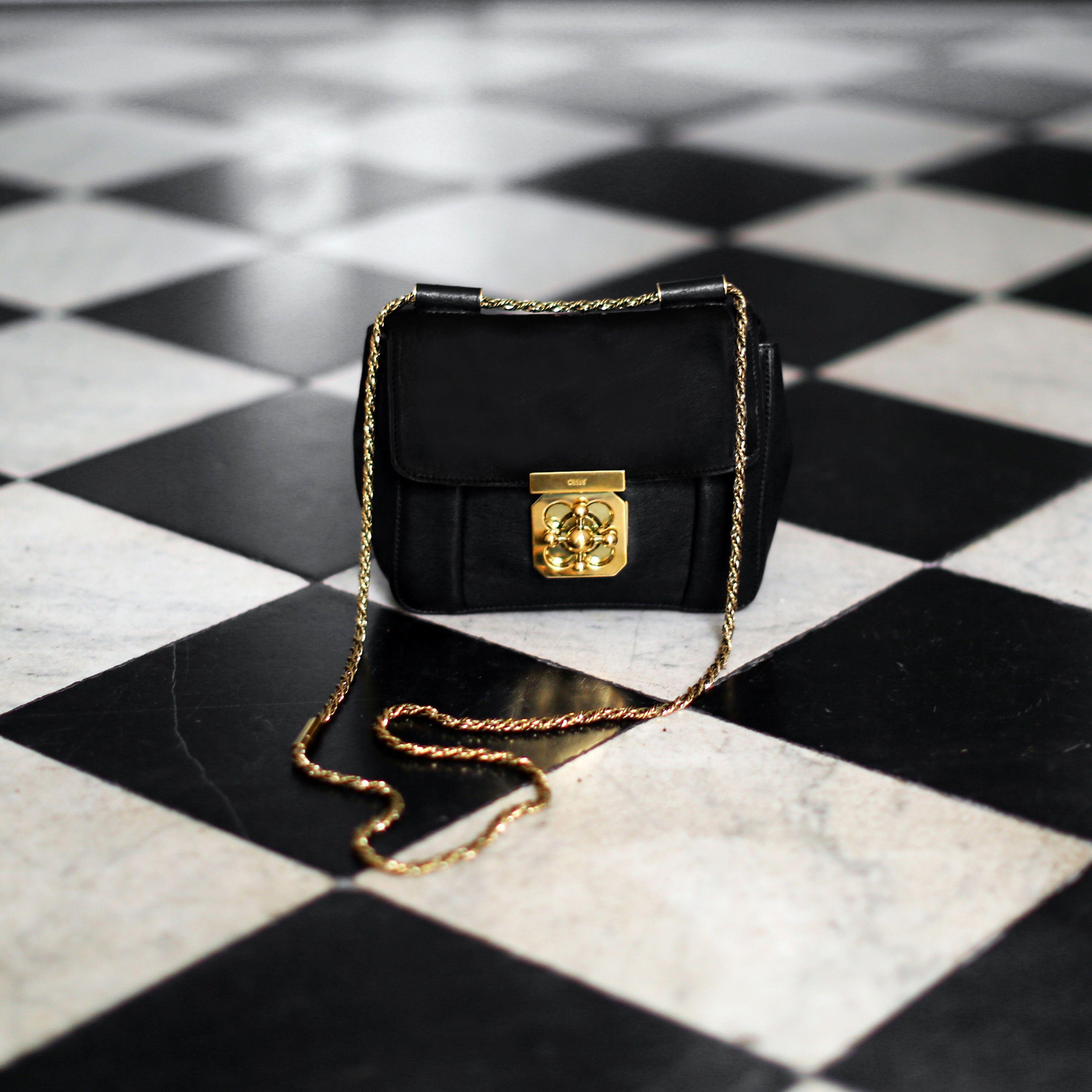 ... shop it on sac chloe elsie medium en cuir grain noir et with sac chlo.  affordable chloe marcie medium bag calf leather taupe attributes matt gilt  brass ... afd9aeb027f