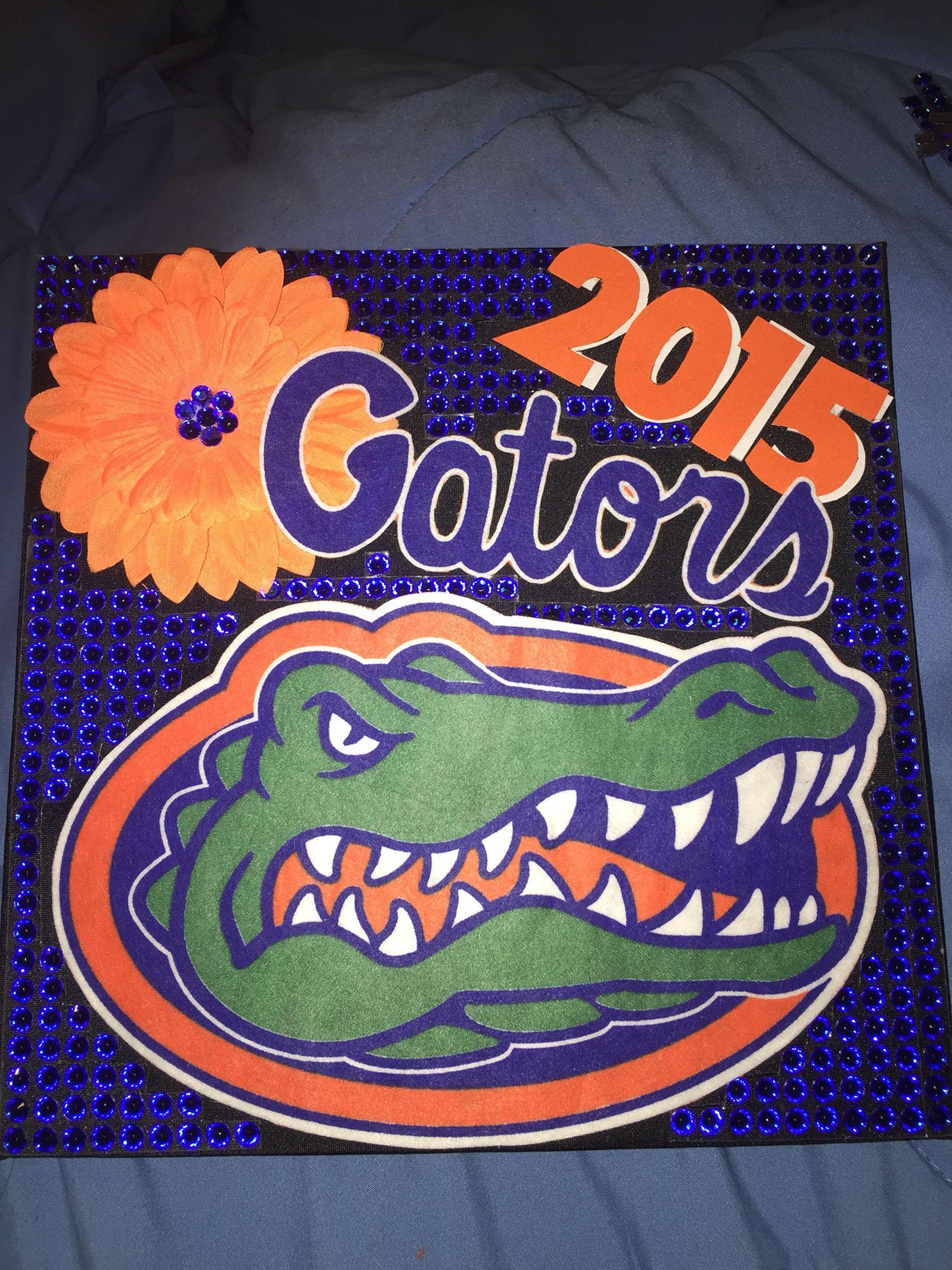My graduation cap for university of Florida graduation  UF